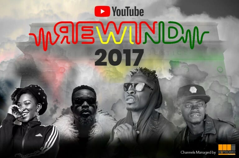 Photo of Sarkodie, Shatta Wale, Lil Win & Ebony listed in Top Trending Music Videos of 2017 on YouTube