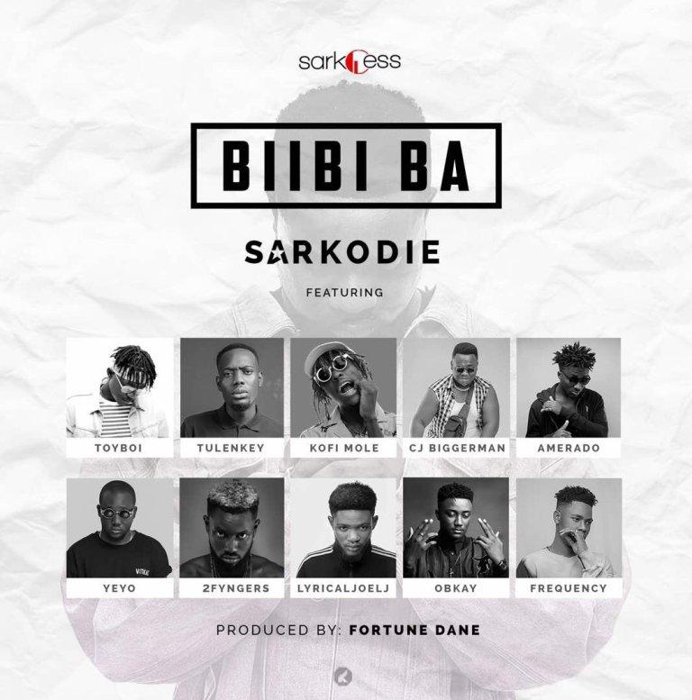 Photo of Sarkodie – Biibi Ba ft. Toy Boi x Tulenkey x Kofi Mole x CJ Biggerman x Amerado x Yeyo x 2fingers x Lyrical Joe x OBKAY x Frequency (Prod. By Fortune Dane)