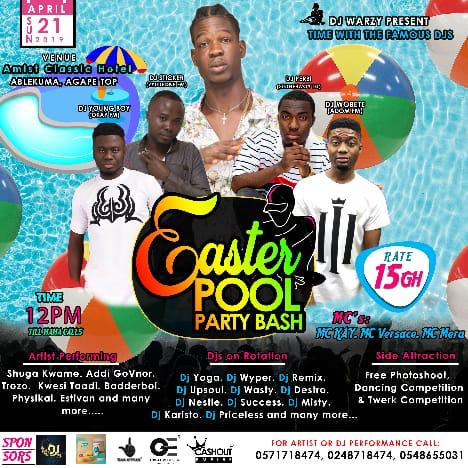 DJ Warzy Easter Pool Party Bash