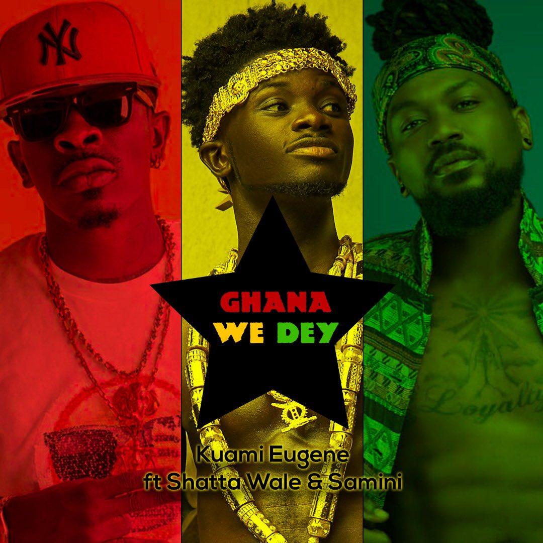 Kuami Eugene – Ghana We Dey ft. Shatta Wale & Samini