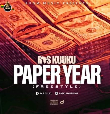 Photo of Ras Kuuku – Paper Year (freestyle)