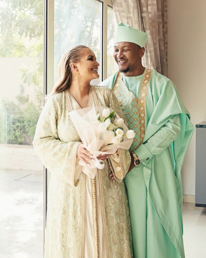 Photo of John Mahama's son Shafik weds Algerian girlfriend in Dubai (WATCH)