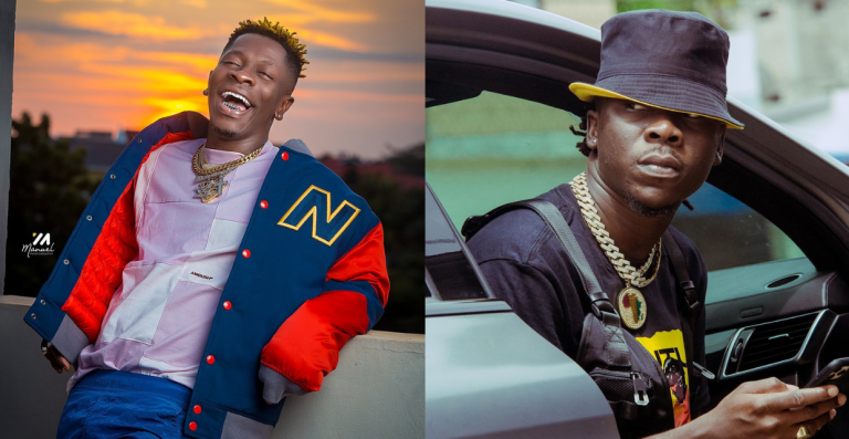"Screenshots: Shatta Wale Teases Stonebwoy After Listening to his ""Blaze Dem"" Freestyle"