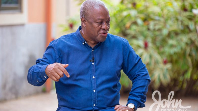 Ghana Election 2020: Ghanaian Children Will Suffer From NPP's Rampage Borrowing Debts, Akufo-Addo's Never – John Mahama