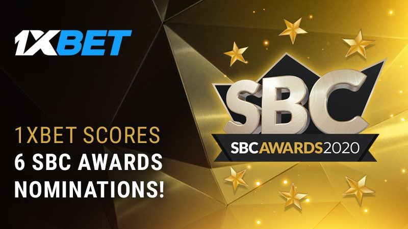 BC 1xBet shines with 6 nominations at the 2020 SBC Awards