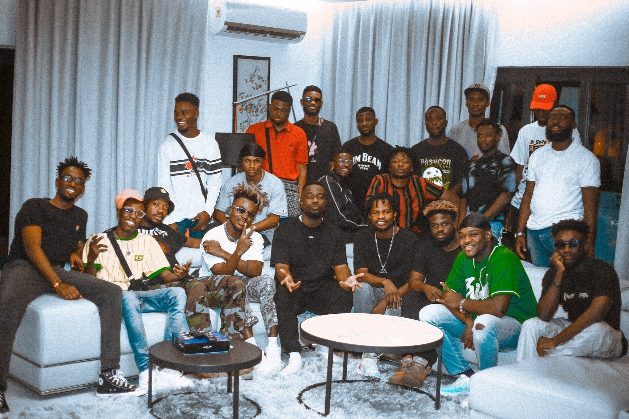 Photo of Video : Sarkodie Teases New Song With Quamina Mp, Fameye And J.Derobie
