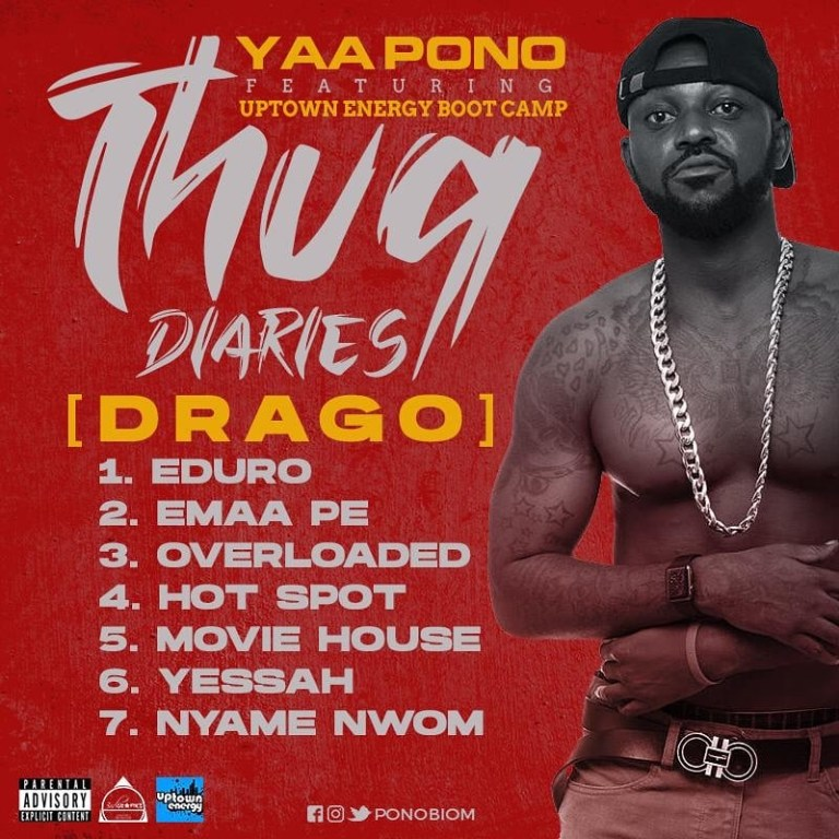 Yaa Pono – The Thug Diaries (Full EP)