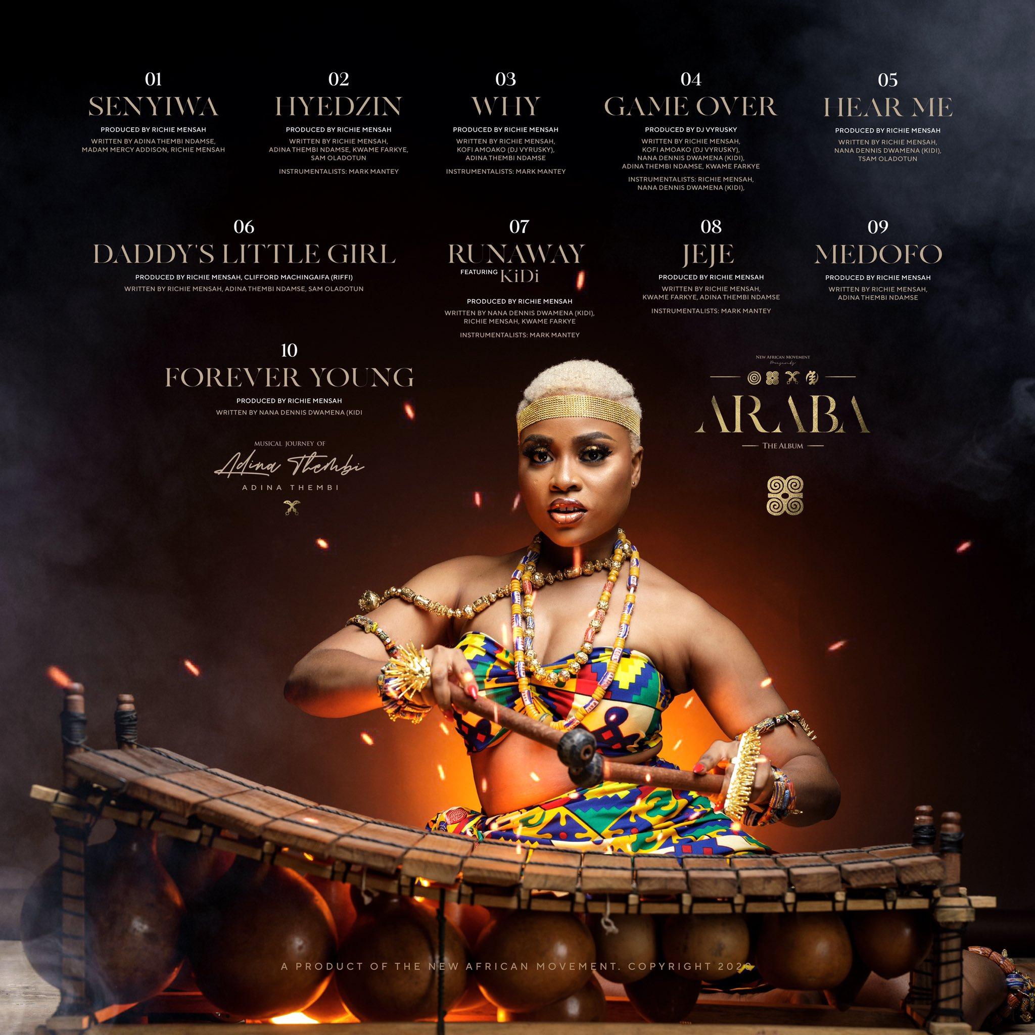 Adina Thembi – Araba Full Album