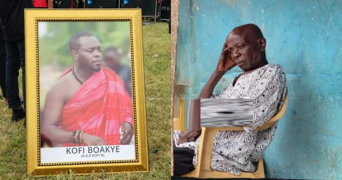 Photo of Kofi B's Father Who Died 30 Years Ago Resurrects Following His Funeral
