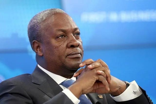 Photo of Congratulation Joseph Robinette Biden Jr. Mahama Handshake
