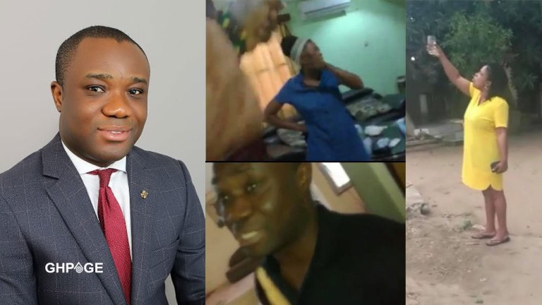 Video : Ndc Chief Felix Ofosu Kwarkye Caught Red Handed With Someone's Wife