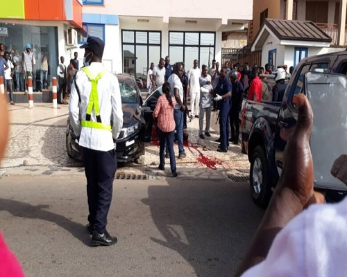 Photo of Trotro driver shot dead in broad day light at Ayeduase, Kumasi over Controversial reasons, Read why- SAD PHOTOS