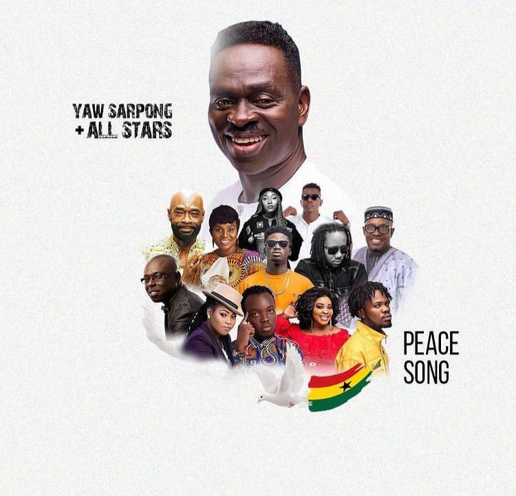 Photo of Yaw Sarpong – Peace Song ft. Kuami Eugene, Fameye, Akwaboah, Joyce Blessings, Wutah Afriyie, Eno Barony, Kofi Sarpong, Pat Thomas, Lord Morgan & Dr Pounds