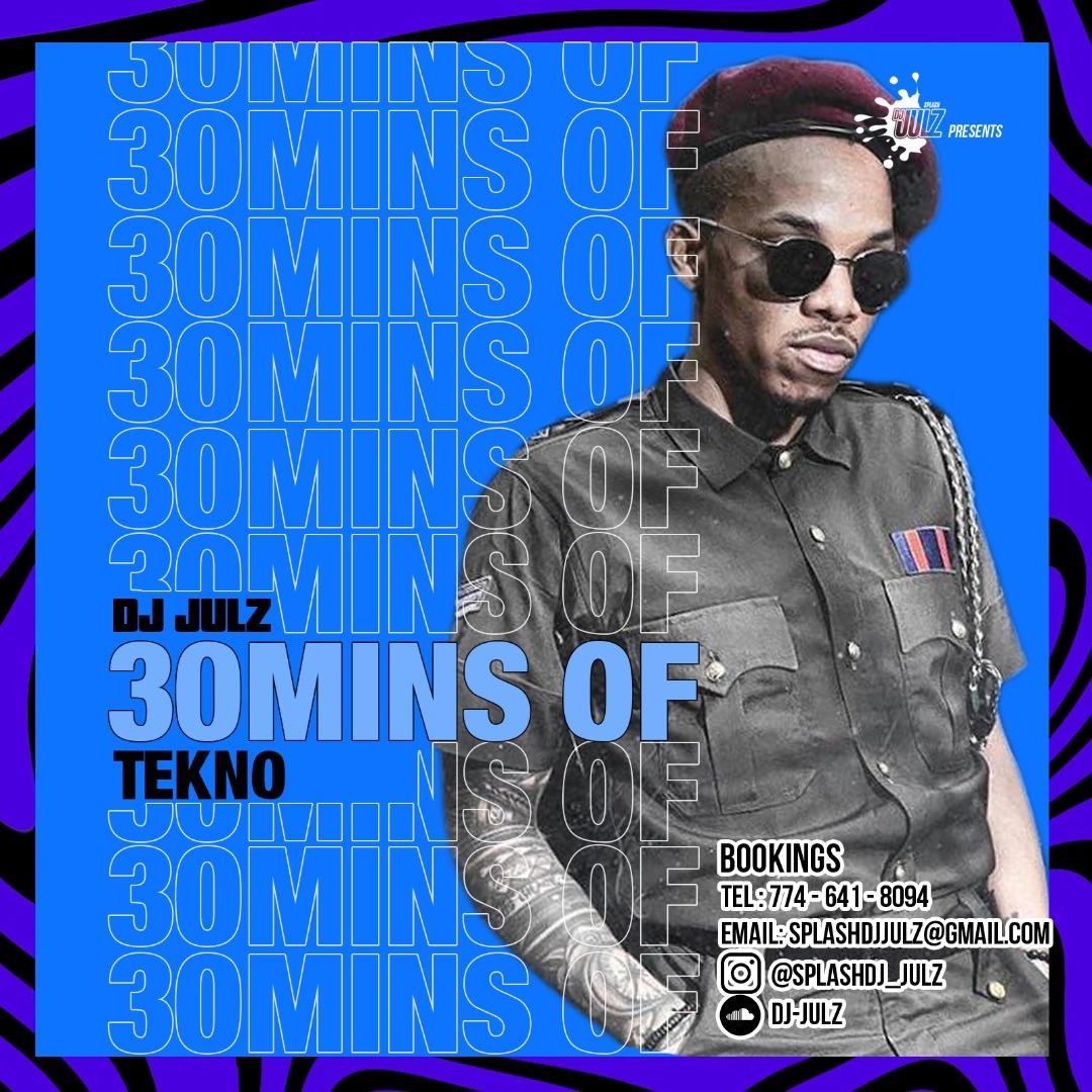 DJ Julz – 30 Mins Of Tekno