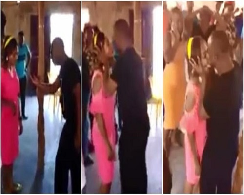 Photo of Shocking video of rogue pastor kissing members during deliverance service drops