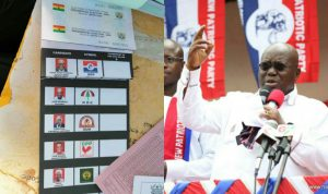 Photo of Election2020 : EC Official Who Cropped Akufo-Addo's Photo Out From Ballot Paper