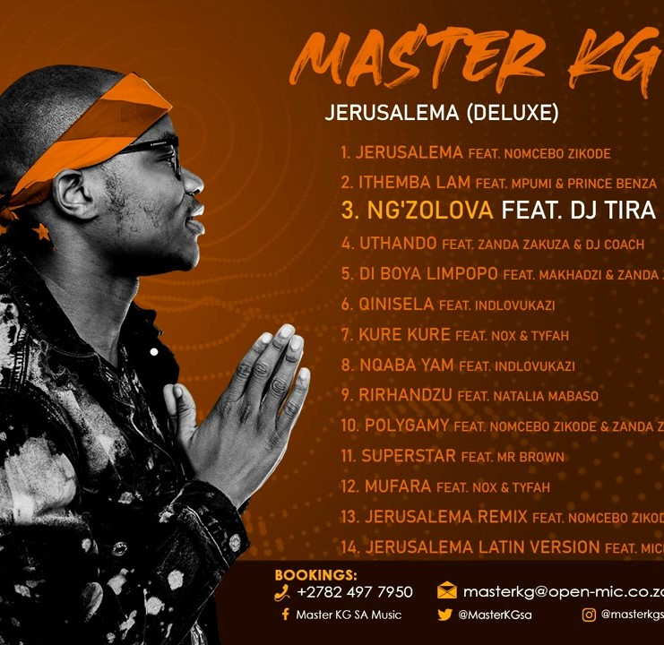 Photo of Master KG – Ng'zolova ft. DJ Tira & Nokwazi