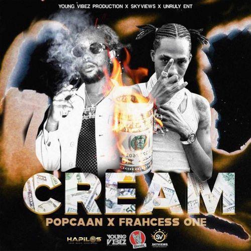 Popcaan – Cream Ft Frahcess One