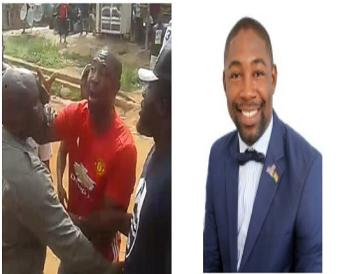 Photo of HOT VIDEO: Dr. Okoe Boye In A Near Street Fight With Constituents