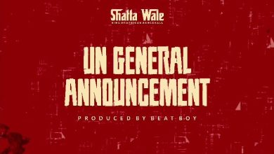 Shatta Wale UN General Announcement 2