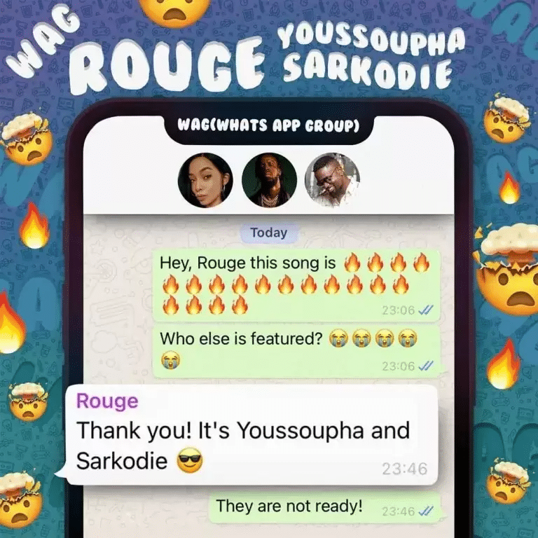 Rouge WAG ft Sarkodie x Youssoupha