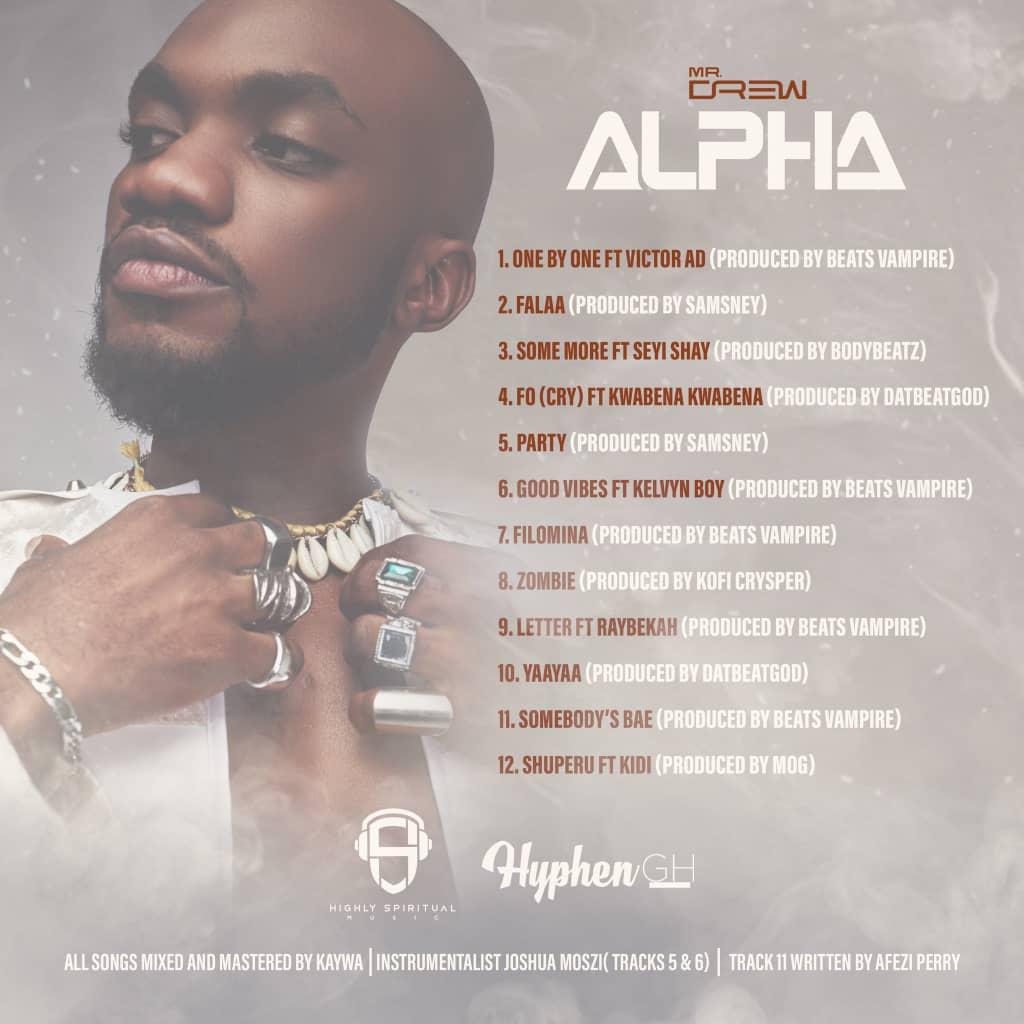 Mr Drew Alpha album